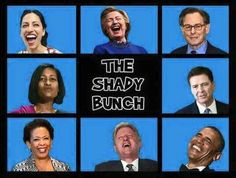 The Shady Bunch - July 2016 - I wrote the date because this should be updated with different scandals weekly, at least