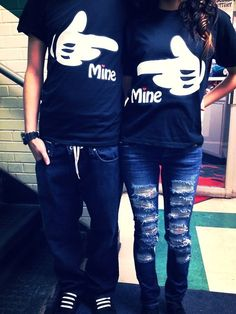d'awwhhh i really want these shirts for me and my boyfriend :$