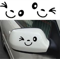 Car Accessories For Teens Side Mirror Window Decal Wink Sticker. Car Accessories For Teens Side Mirror Decal Wink Mirror Stickers Computer Phone Fuel Tank Vinyl. These Smiley Face Wink Decals are great for Windows. Stickers Kawaii, Cool Stickers, Bumper Stickers, Funny Stickers, Mirror Decal, Mirror Stickers, Window Decals, Cricut Vinyl, Vinyl Decals