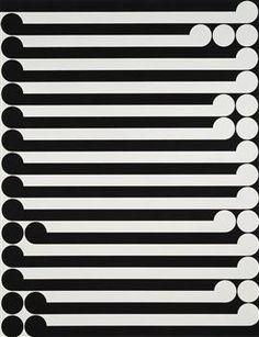 Gordon Walters: Karakia 1977 - Koru - Ngā Toi Arts Te Papa - Museum of New Zealand Te Papa Tongarewa Maori Symbols, Maori Designs, New Zealand Art, Nz Art, Maori Art, Dutch Artists, Wood Veneer, Textures Patterns, Geometric Patterns