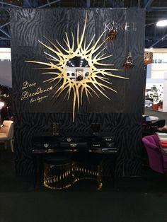 @koket luxury gold mirror