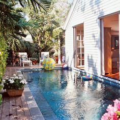 Poolside Cottage - 20 Beautiful Beach Cottages - Coastal Living