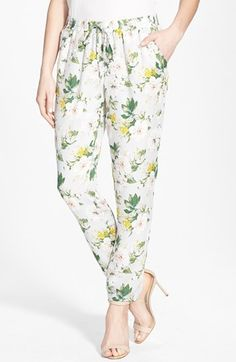 Joie 'Theron B' Silk Pants available at #Nordstrom