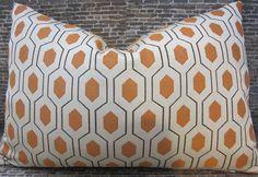 euclid apricot fabric