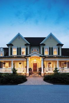 Gorgeous wrap-around porch