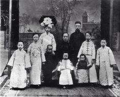 Emperor Puyi of China's family