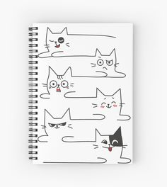 Funny Cute Illustration Sad 70 Ideas For 2019 Cat Doodle, Doodle Art, Bujo Planner, Simple Cat Drawing, Funny Doodles, Funny Illustration, Pictures To Draw, Drawing Pictures, Easy Drawings