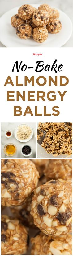 Made with a nutritious blend of clean ingredients, these No-Bake Almond Energy Balls make an indulgent treat you can enjoy without guilt!