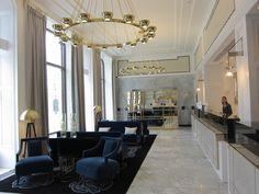 Amazing Renovation Apartment Building Lobby Interior Design Ideas