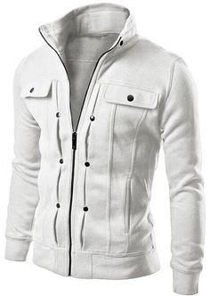 Casual Winter Sweatshirts - Turn-Down Collar