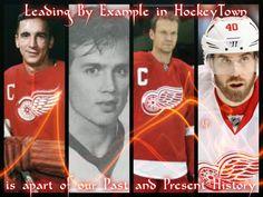Hockey Town Captains Detroit Hockey, Detroit Sports, Hockey Teams, Detroit Vs Everybody, Steve Yzerman, Winged Girl, Red Wings Hockey, Griffins, Detroit Red Wings