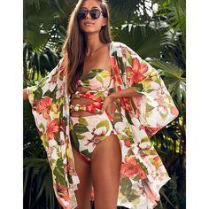 Monokini, Bikini Cover Up, Swimsuit Cover, Bandeau One Piece Swimsuit, Floral Swimsuit, Lace Bikini, Bikini Swimwear, Crochet Bikini, Women Swimsuits