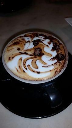 Practice - wave heart/hanging heart - Cappuccino