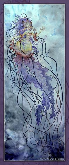 Deep Sea Medusa by MisticUnicorn on DeviantArt Fantasy Mermaids, Mermaids And Mermen, Medusa, Fantasy Creatures, Sea Creatures, Mermaid Mythology, Mermaid Illustration, Mermaid Kisses, Fairytale Art
