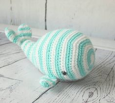 Whale Plush, Crochet Whale Plush, Baby Toy, Whale Stuffed Animal, Baby Shower Gift, Baby Gift, Made