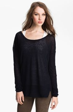 Vince Linen Sweater    $195.00