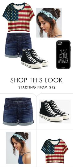 """Amerika"" by maja-zmeskalova on Polyvore featuring 3x1, Converse, ASOS, WithChic and Casetify"
