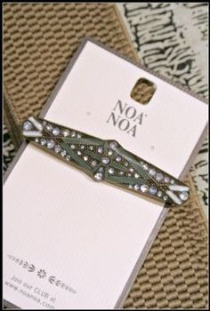 Noa Noa Thornbird Brooch 1-3053-1 in Forest £17