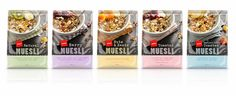 Pams Muesli on Packaging of the World - Creative Package Design Gallery