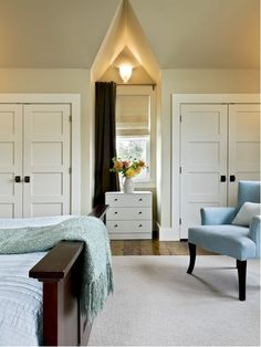DIY closet doors can help transform your entire room and make you pay more attention to a mostly forgotten space we use everyday. #Closet #Doors #Bedroom #Bathroom #Small #Rustic