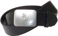 Polo Ralph Lauren Belt, Vacchetta Leather Logo Plaque on shopstyle.com