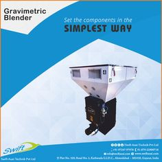 Gravimetric Blender by Swift Auxi Technik is easy to operate and set the components in the simplest way for the convenient functioning.  #GravimetricBlender  #GravimetricBlenderManufacturers #GravimetricBlenderSuppliers #GravimetricBlenderTraders #GravimetricBlenderExporters