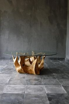 what do you think of something like this for coffee table TEAK ROOT TABLE
