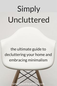 Simply Uncluttered -