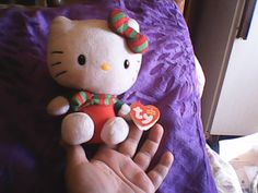 "Hello Kitty Ty Beanie baby ""original"""