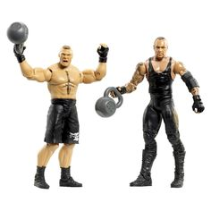 WWE Battle Pack Brock Lesnar vs. Undertaker Figure 2-Pack