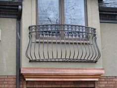 Custom Built Wrought Iron Steel Balconies, Juliette Balconies and Metal Window Guards for modern security solutions for sale - Babin Ironworks your custom balcony builder. Shop with Babin Ironworks and purchase your balcony from the masters. Juliette Balcony, Balcon Juliette, Iron Windows, Iron Doors, French Balcony, Balcony Railing Design, Iron Balcony, Window Planters, Best Home Security