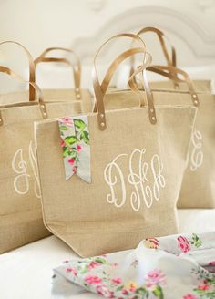 ... used as a beach bag and a travel bag ever after! Bridesmaid Gift Ideas