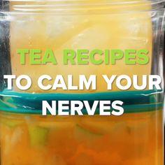 Tea Recipes To Calm Your Nerves Fat Flush Detox, Mango Iced Tea, Non Alcoholic Punch, How To Calm Nerves, Milk Tea, Sweet Tea, Cinnamon Apples, Tea Recipes, Apple Cider