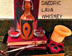 Picture of Daedric Lava Whiskey (Elder Scrolls IV: Oblivion)
