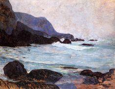 The Coast of Bellangenay - Paul Gauguin