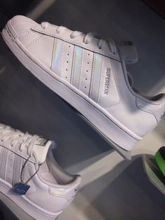 shoes adidas superstar white argent