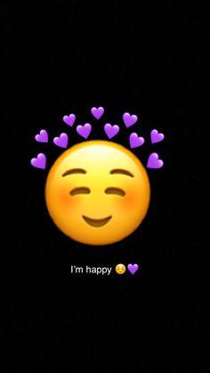 Emoji Pictures, Different Quotes, Emoji Wallpaper, Im Happy, Emoticon, Cute Wallpapers, Minion Wallpaper, Storage, Display