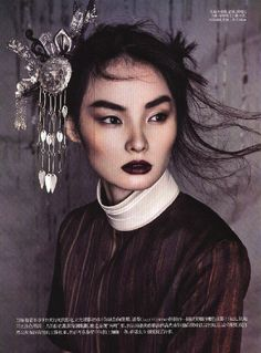 Miao Bin Si for Vogue China October 2011