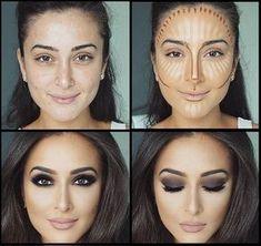 Face Contour and Highlight Makeup Tutorial