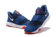 3f73733c8bf Nike KD Trey 5 VI Navy Blue White-Red Men s Basketball Shoes