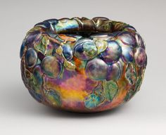 Bowl 1898-1902 ~ Designed by Louis Comfort Tiffany