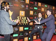 Twitter / shahidkapoorFC: PIC - Arjun Kapoor, Ranveer ...