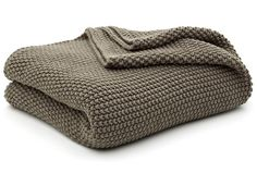 Moss stitch throw. $65 to purchase