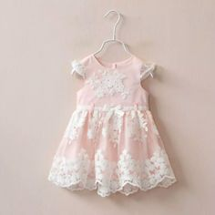 Rose Lace Dress - Little Livey