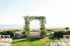 Photography: Birds Of A Feather Photography - undefined Floral Design: ella & louie - undefined   Read More on SMP: /2017/06/21/a-santa-barbara-soiree-with-a-to-die-for-seaside-view/