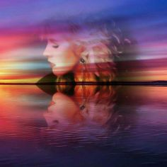 an awesome Stevie ~ ღ☆❤☆ღ ~ reflections photo edit