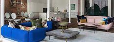 Un loft cosmopolita y artístico en el SoHo de Nueva York Oversize Knit Blanket, Knitted Blankets, Ikea, Patio Interior, Easy Projects, Soho, Diy, Crochet, Desserts