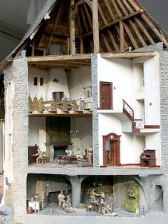 Outoppies Scale Modelling Dream Dioramas Blog: Clervaux Village and Castle Diorama