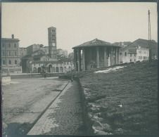 Tempio di Vesta, ca. Vintage Silver, City, Painting, Outdoor, Rome, Italia, Fotografia, Outdoors, Painting Art