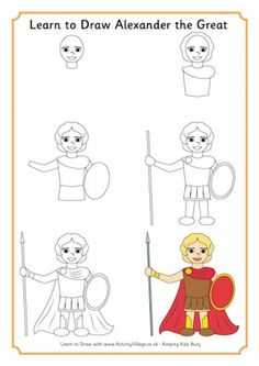 Learn to Draw Alexander the Great